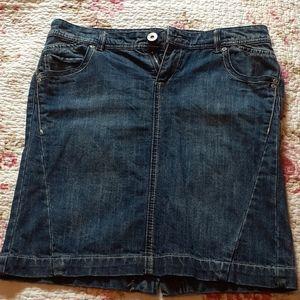 Smart Set Jean Skirt